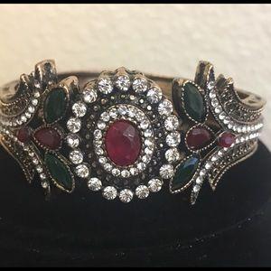 Beautiful Multi Created Stones Bracelet